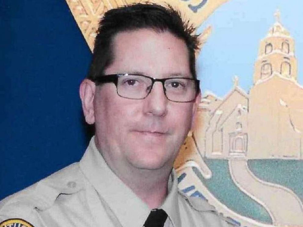 PHOTO: An undated photo of Ventura County sheriff Sgt. Ron Helus was shot dead on November 7, 2018 in a mass shooting near Thousands Oaks, California.
