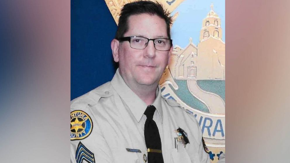 An undated photo of Ventura County Sheriff Sgt. Ron Helus, who was shot and killed in a mass shooting at a Thousands Oaks, Calif., bar, Nov. 7, 2018.
