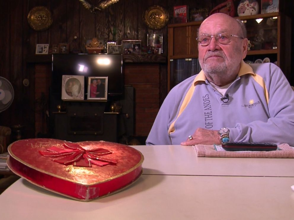 Couple celebrates 39-year tradition with no ordinary box of chocolates