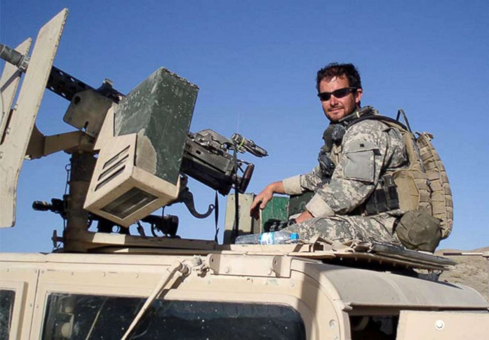 PHOTO: Staff Sgt. Ronald J. Shurer conducting a mission in Afghanistan, circa 2006.