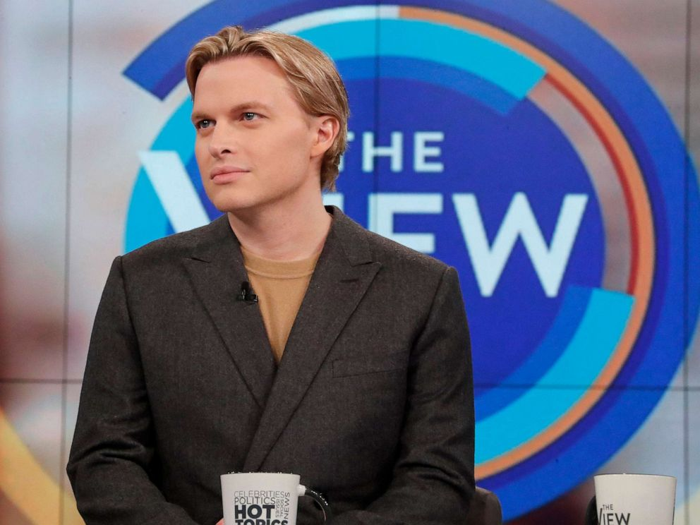 PHOTO: Ronan Farrow appears on The View, Oct. 14, 2019, in New York.