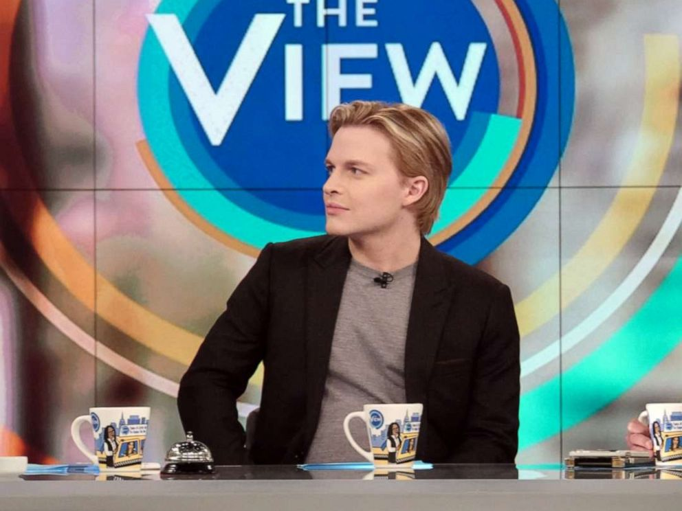 PHOTO: Ronan Farrow guest co-hosts on ABCs The View, Dec. 3, 2019.