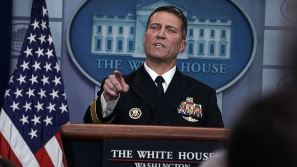 Former Trump physician Navy Rear Adm. Ronny Jackson running for Texas congressional seat
