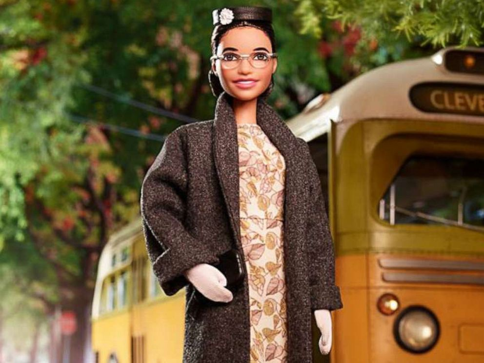PHOTO: Barbie created a Rosa Parks doll as part of the Inspiring Women Series.