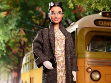 NEW Barbie Inspiring Women Rosa Parks Doll White Gloves ~ Clothing Accessory