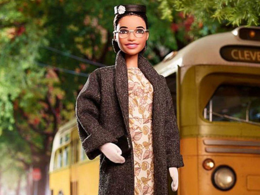 2019 Mattel Barbie Inspiring Women ROSA PARKS Doll
