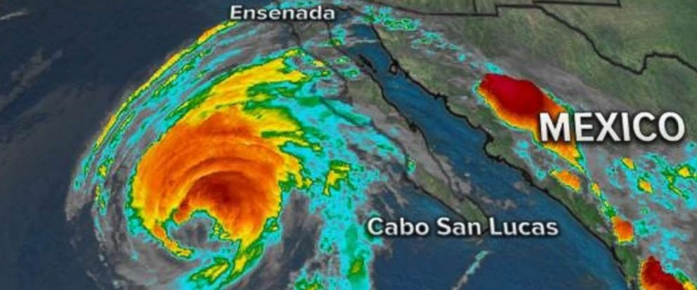 PHOTO: Rosa was a Category 1 storm with maximum sustained winds of 85 mph on Sunday morning.