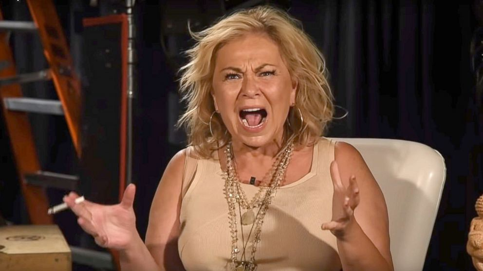 A new video shows Roseanne Barr discussing the racist tweet she posted about a former Obama administration official that prompted the cancellation of her eponymous sitcom.