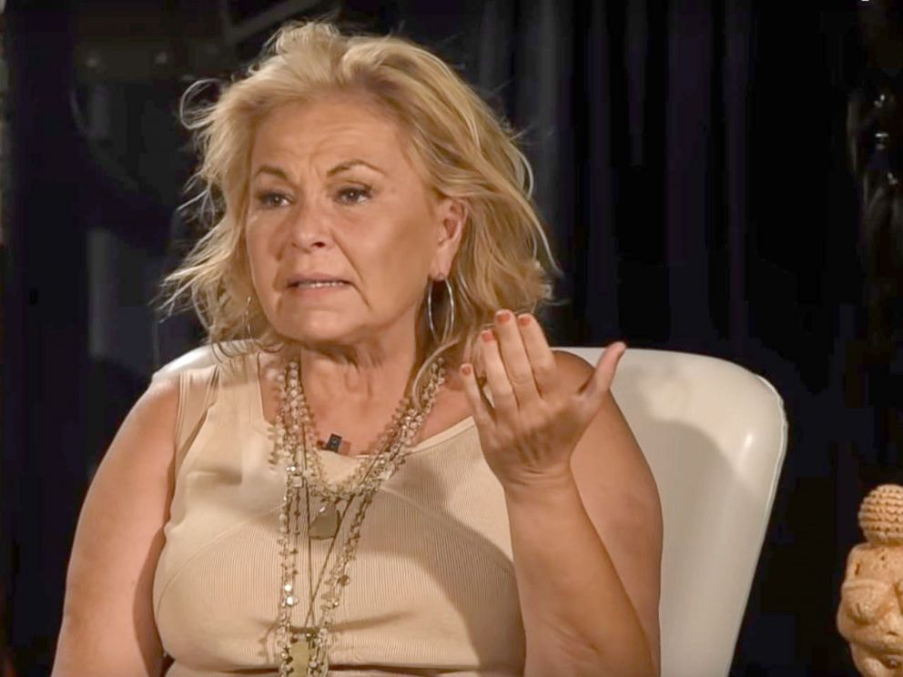 PHOTO: A new video shows Roseanne Barr discussing the racist tweet she posted about a former Obama administration official that prompted the cancellation of her eponymous sitcom.