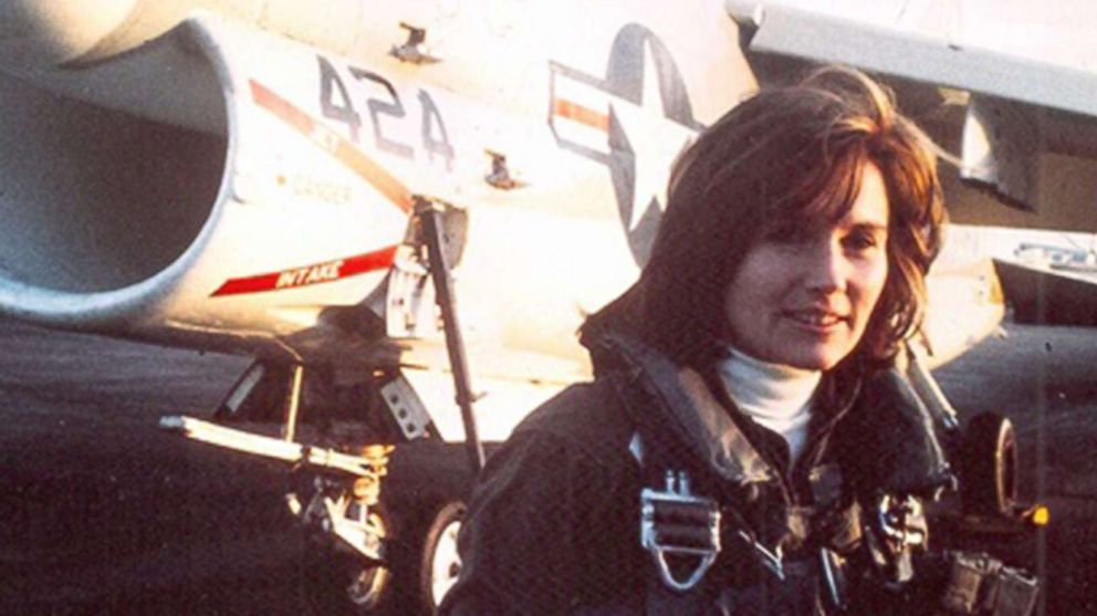 U.S. Navy Captain, Retired, Rosemary Bryant Mariner, pictured in an undated photo, passed away from cancer on Jan. 24, 2019. In 1974, Mariner became the Navy's first female jet pilot and would go on to become the first woman to command a military aviation squadron.