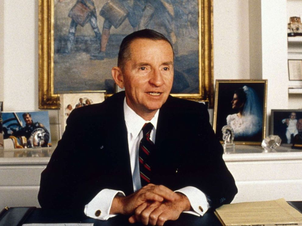 PHOTO: American industrialist Ross Perot is pictured, circa 1996.