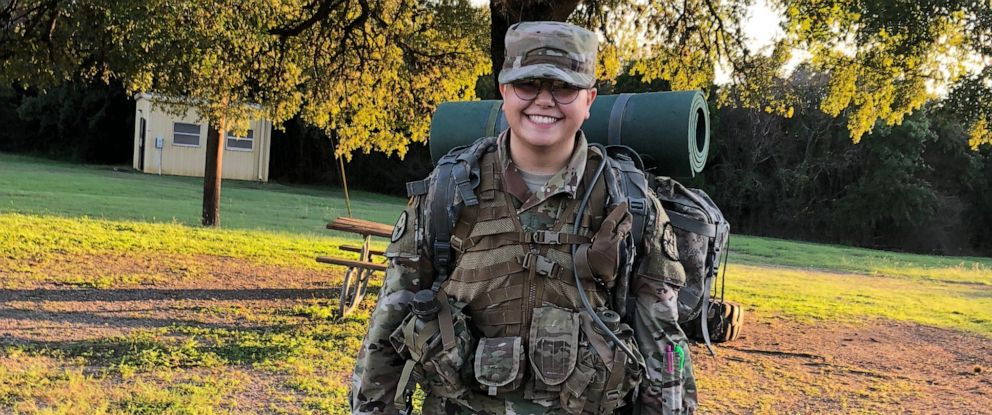 PHOTO: Freshman ROTC cadet Max Pesqueira says he has lost his military scholarship at the University of Texas because he is transgender and now barred from serving in the U.S. Army under the Pentagons new transgender policy.
