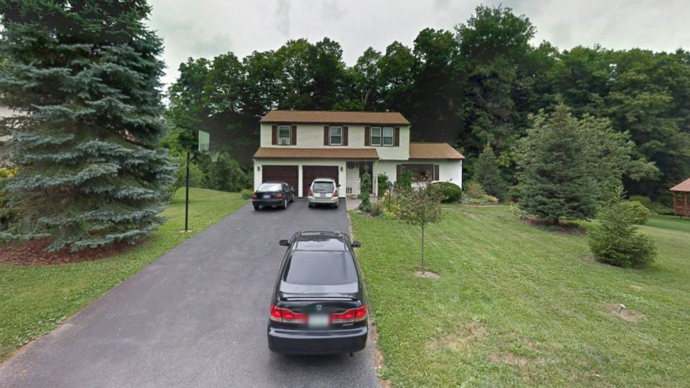 The home of Mark and Christina Rotondo is seen in this undated Google Maps, in Syracuse, N.Y.