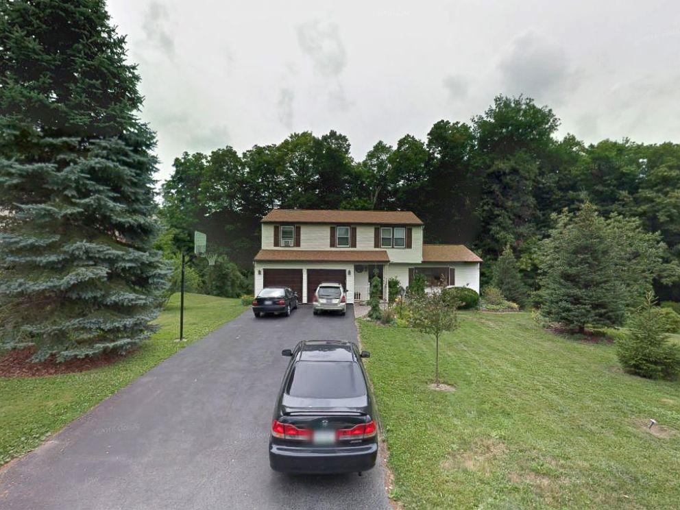 PHOTO: The home of Mark and Christina Rotondo is seen in this undated Google Maps, in Syracuse, N.Y.