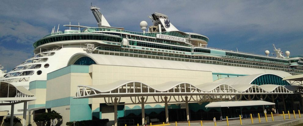 PHOTO: The Royal Caribbean Freedom of the Seas is pictured in Port Canaveral, Fla., Feb. 12, 2015.