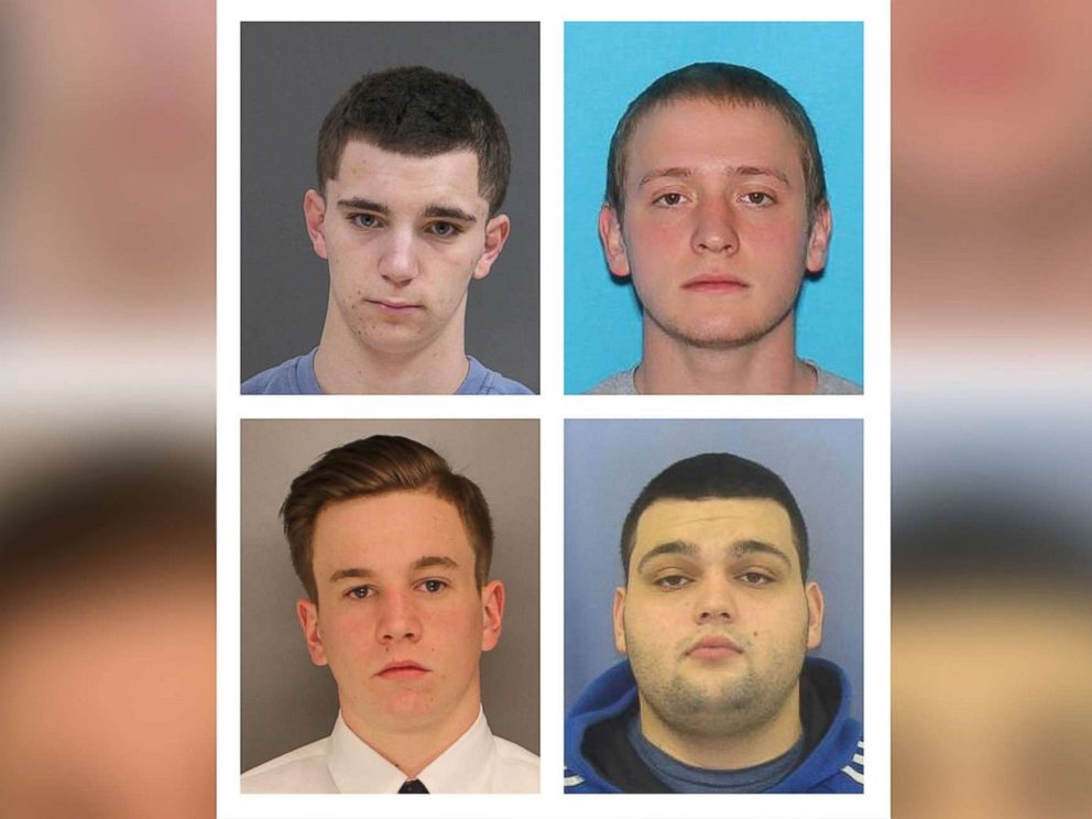 PHOTO: Bucks County District Attorneys Office authorities say they are focusing their search for the four missing men on a sprawling farm in Bucks County, about 40 miles north of Philadelphia, on July 11, 2017.