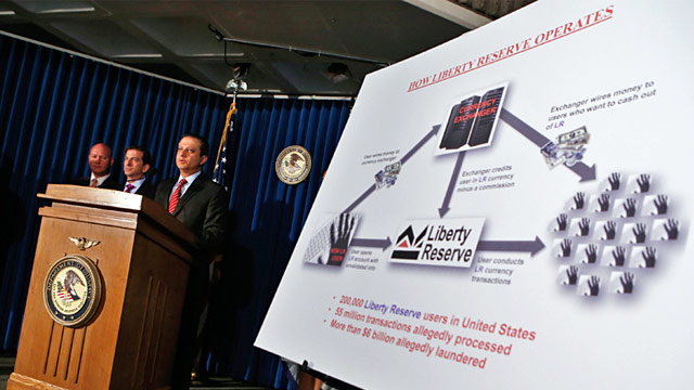 PHOTO: Liberty Reserve indictment press conference
