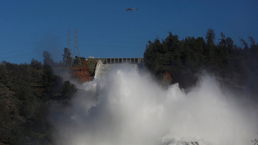 Evacuation order lifted for areas surrounding the Oroville