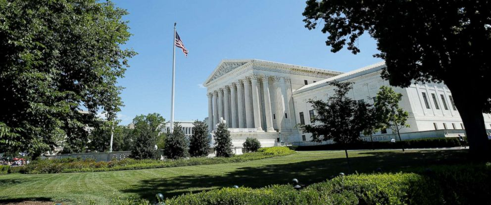 PHOTO: The U.S. Supreme Court building is seen after it granted parts of the Trump administrations travel ban into effect immediately while the legal battle continues, in Washington, June 26, 2017.