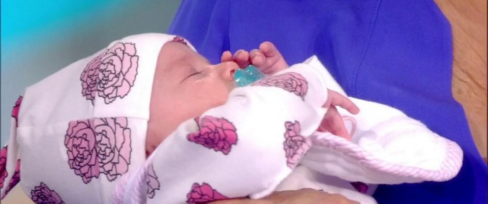 PHOTO: Abby Huntsman welcomed twins Ruby and William in June.