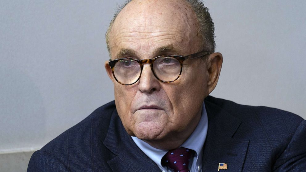 Prosecutors ask judge to appoint 'special master' in probe of Rudy Giuliani