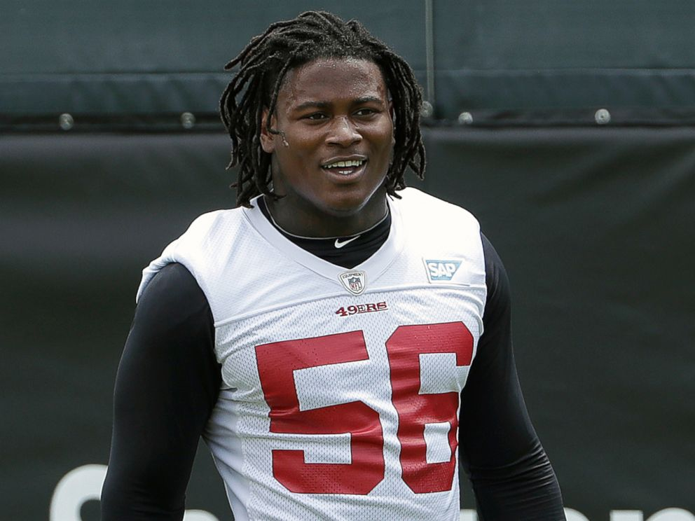 49ers LB Foster arrested on domestic violence charges