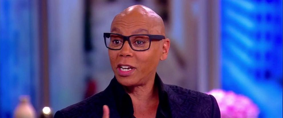 """PHOTO: RuPaul joined """"The View"""" to discuss the presidents Pride Month tweet, a proposed """"Straight Pride Parade"""" in Boston and more."""