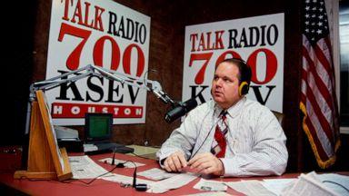 Conservative radio host Rush Limbaugh dead at age 70