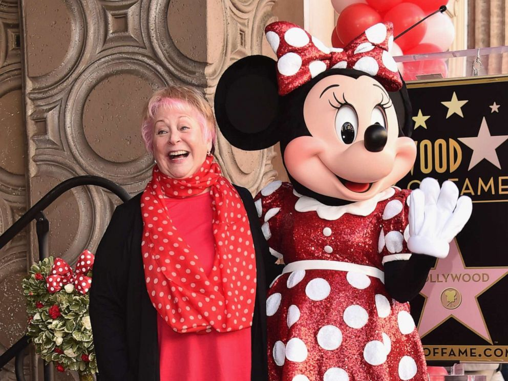 PHOTO: Russi Taylor, seen here Jan. 22, 2018, was best known for voicing the Disney character Minnie Mouse. She passed away on Saturday, July 26, 2019 in Glendale, Calif. She was 75 years old.