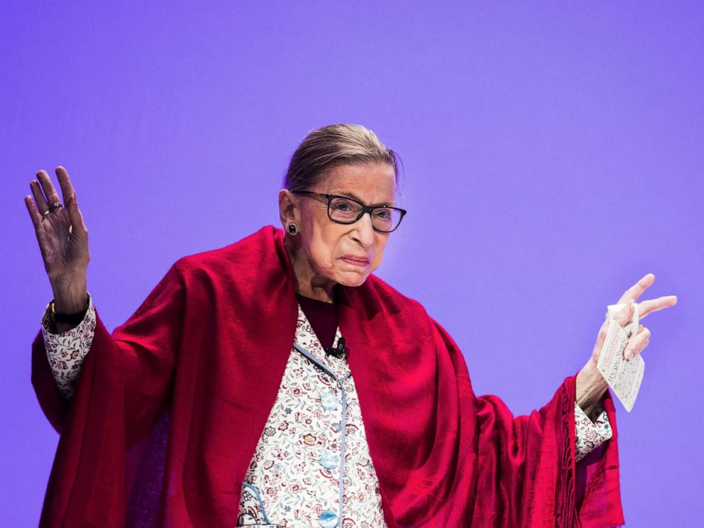 Ruth Bader Ginsburg wins $1 million award for championing human rights