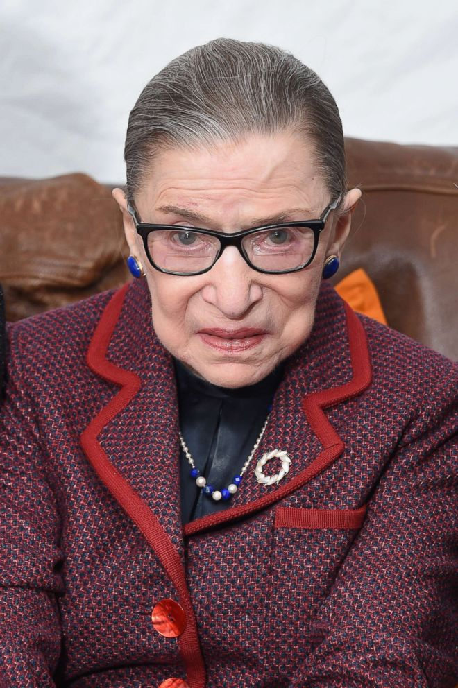 PHOTO: Associate Justice of the Supreme Court of the U.S. Ruth Bader Ginsburg attends the RBG Premiere during the 2018 Sundance Film Festival at The Marc Theatre, Jan. 21, 2018, in Park City, Utah.