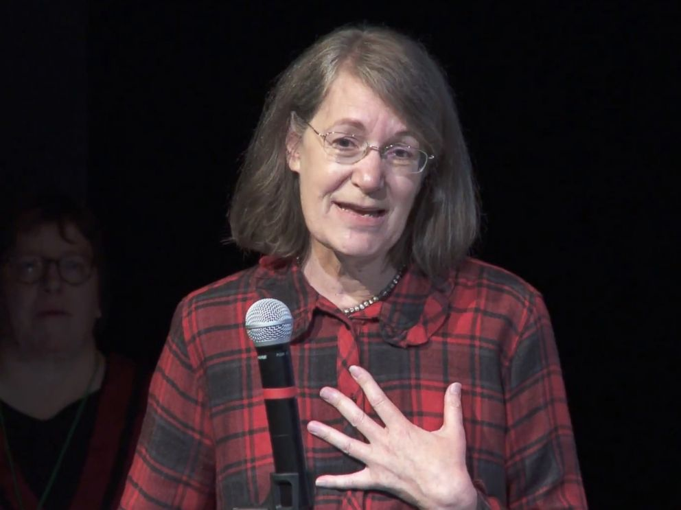 PHOTO: Dr. Ruth Etzel, Director of the Office of Childrens Health Protection at the Environmental Protection Agency, speaks at an event in a image made from video posted to YouTube by the Alaska Community Action on Toxics, Nov. 4, 2016.