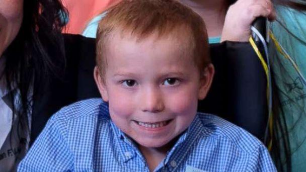 Firetruck brings boy shot in Texas church massacre home from hospital