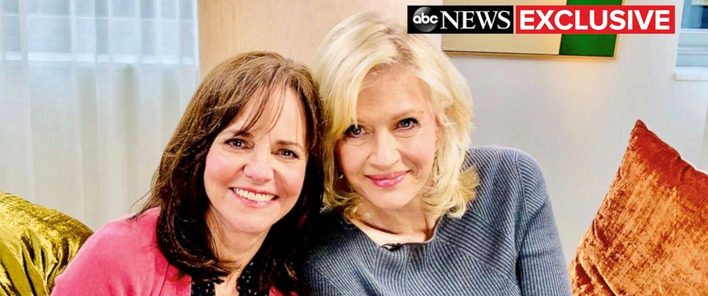 PHOTO: Sally Field is seen here during an exclusive interview with ABC News Diane Sawyer.