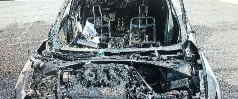 A woman in Detroit says her cellphone burst into flames while she was driving and she had to pull over and escape.