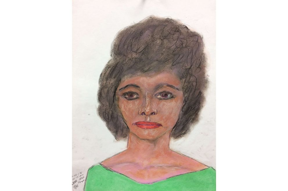PHOTO: A sketch drawn by convicted serial killer Samuel Little of one of his victims, a black female between 28 to 29-years-old killed in 1984 in Arkansas. Little picked her up in Memphis, Tenn.