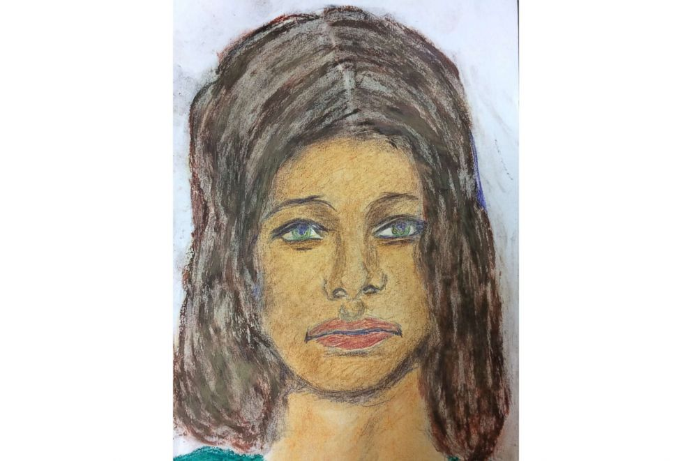 PHOTO: A sketch drawn by convicted serial killer Samuel Little of one of his victims, a white female between 20 to 25-years-old killed in 1972. The victim was possibly from Massachusetts.