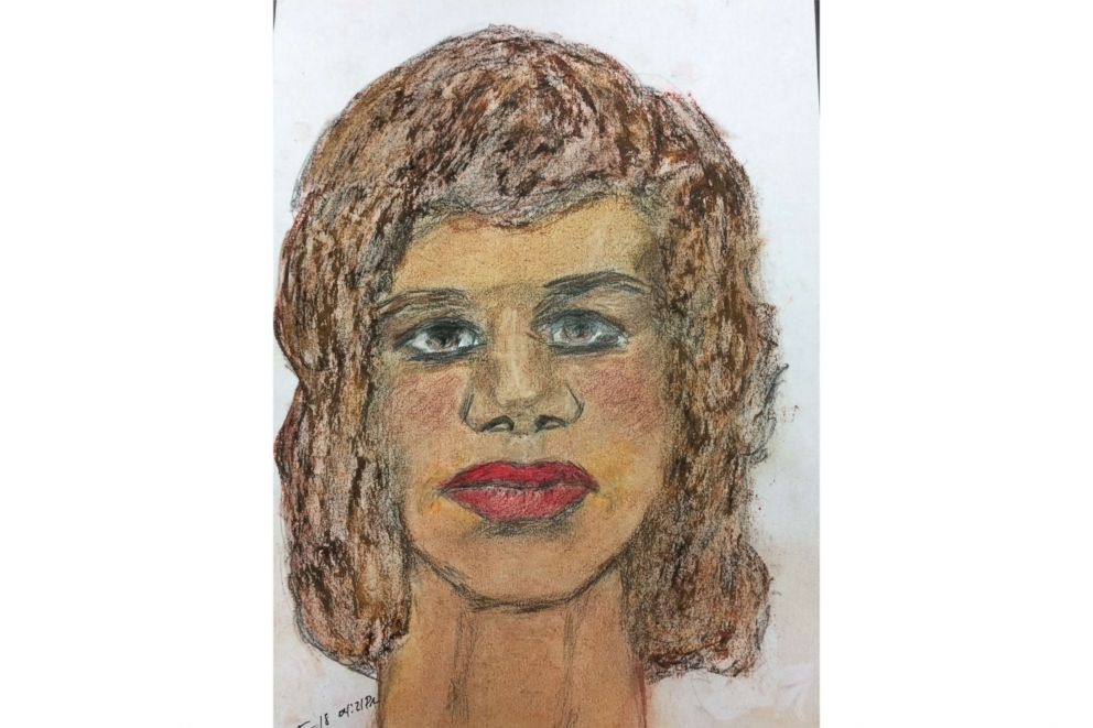 PHOTO: A sketch drawn by convicted serial killer Samuel Little of one of his victims, a black female between 35 to 45-years-old killed in 1977 in Mississippi.