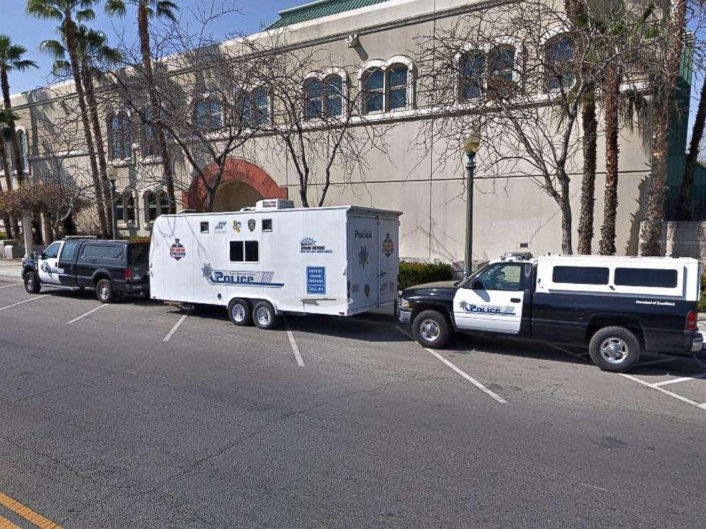 PHOTO: The San Bernardino police department is pictured in this undated Google Maps photo, San Bernardino, Calif.