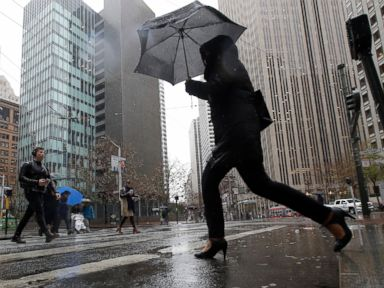 Heavy rain causing concerns in West, wintry threat to eastern US at end of week