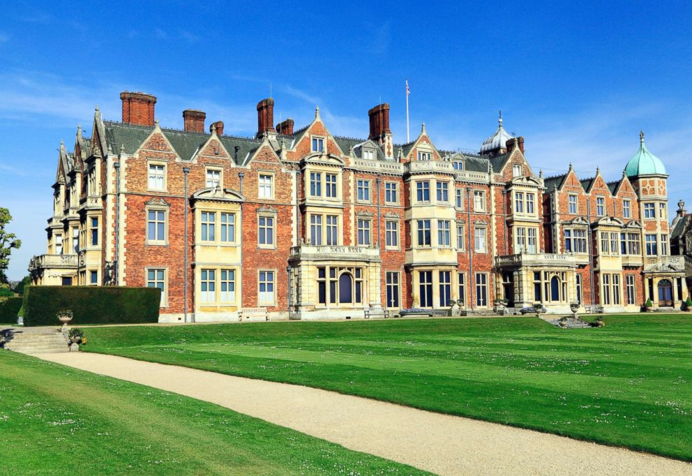 PHOTO: Sandringham House, the country home of Queen Elizabeth II, in Norfolk, England.