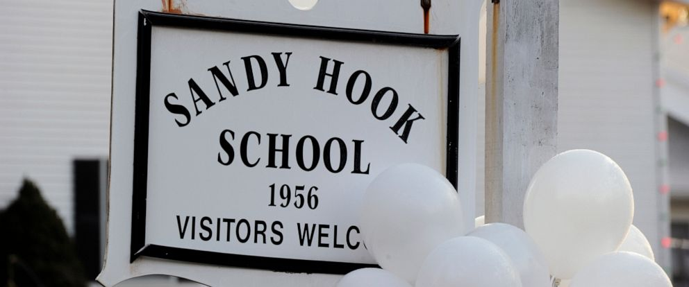 PHOTO: Sandy Hook elementary school in Newtown, Conn., Dec. 15, 2012.