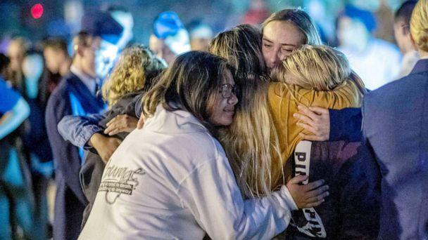 Santa Clarita high school gunman dies from self-inflicted gunshot wound