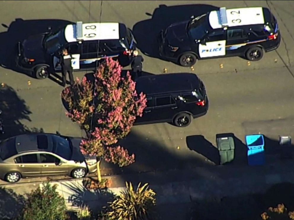 Shooting reported near California high school, suspect apprehended