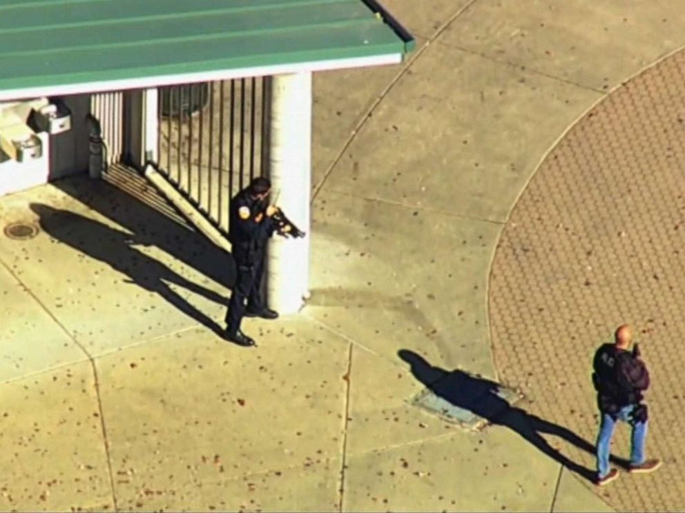 One injured in shooting at California high school; police searching for suspect