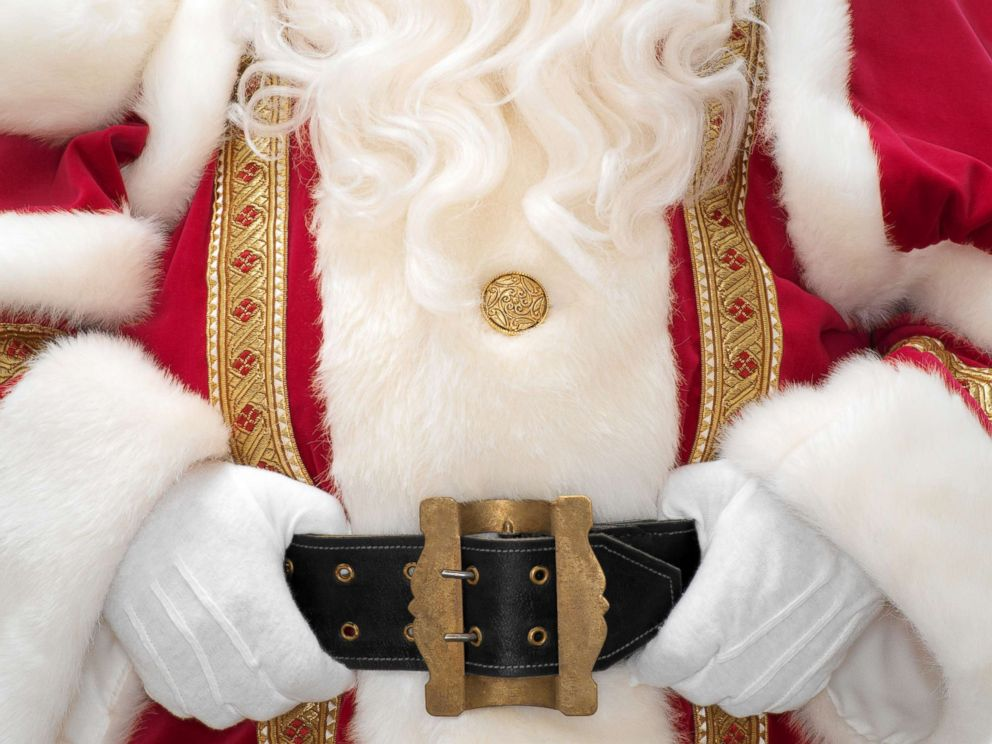 PHOTO: Stock photo of person dressed as Santa Claus.