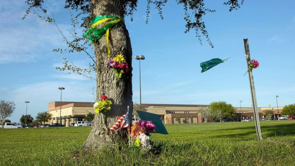 Texas school that was site of mass shooting beefs up security as students return