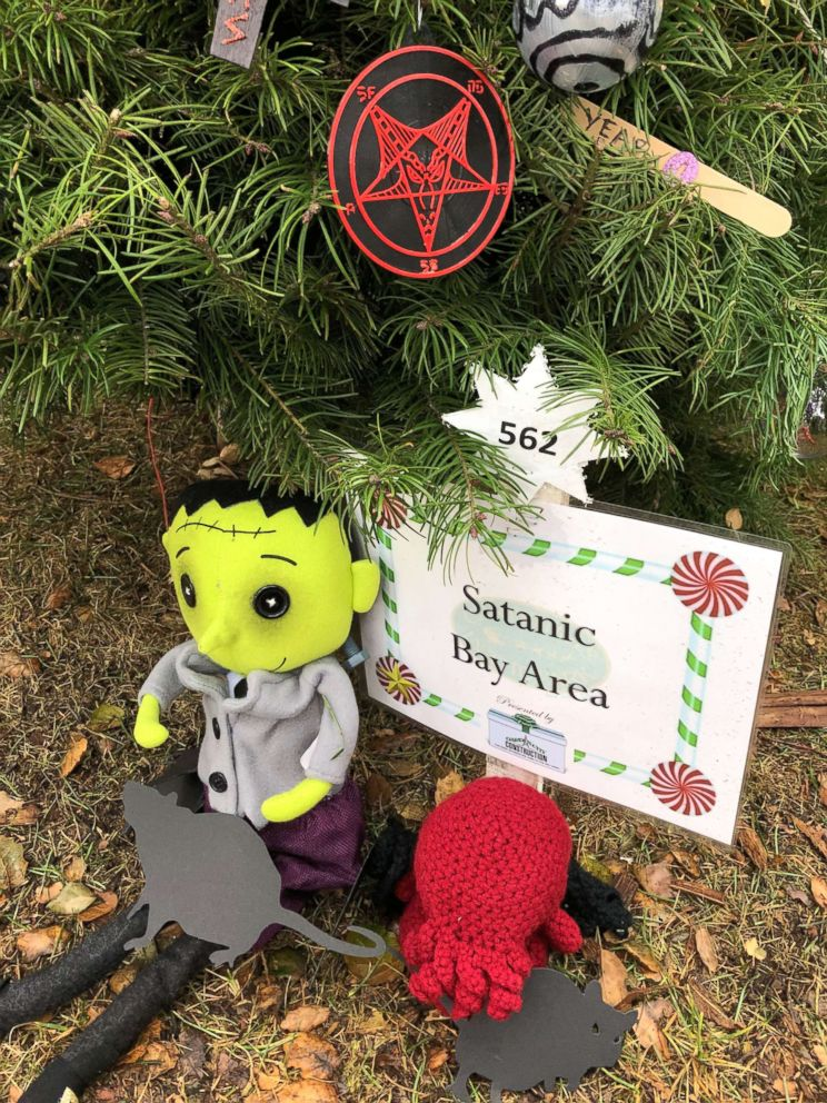 For the second straight year, items from a Satanic holiday display in San Jose, California, have been stolen.