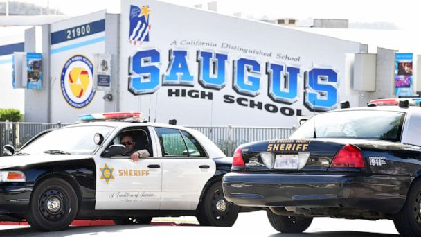 Classes resume at Saugus High School in Santa Clarita, California, 18 days after deadly rampage