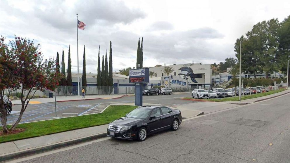 Shooting reported at high school in Los Angeles area